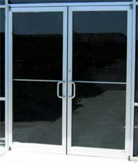 commercial door'